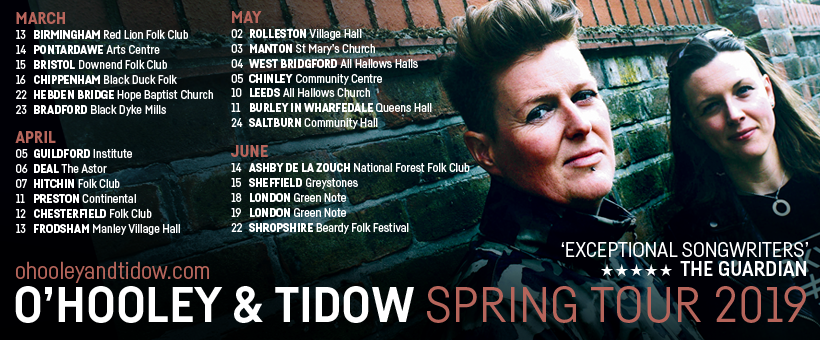 O Hooley Amp Tidow Spring Tour 2019 Simply Marvellous Music